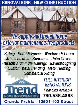 Grande Prairie Home Improvements Renovations Quality